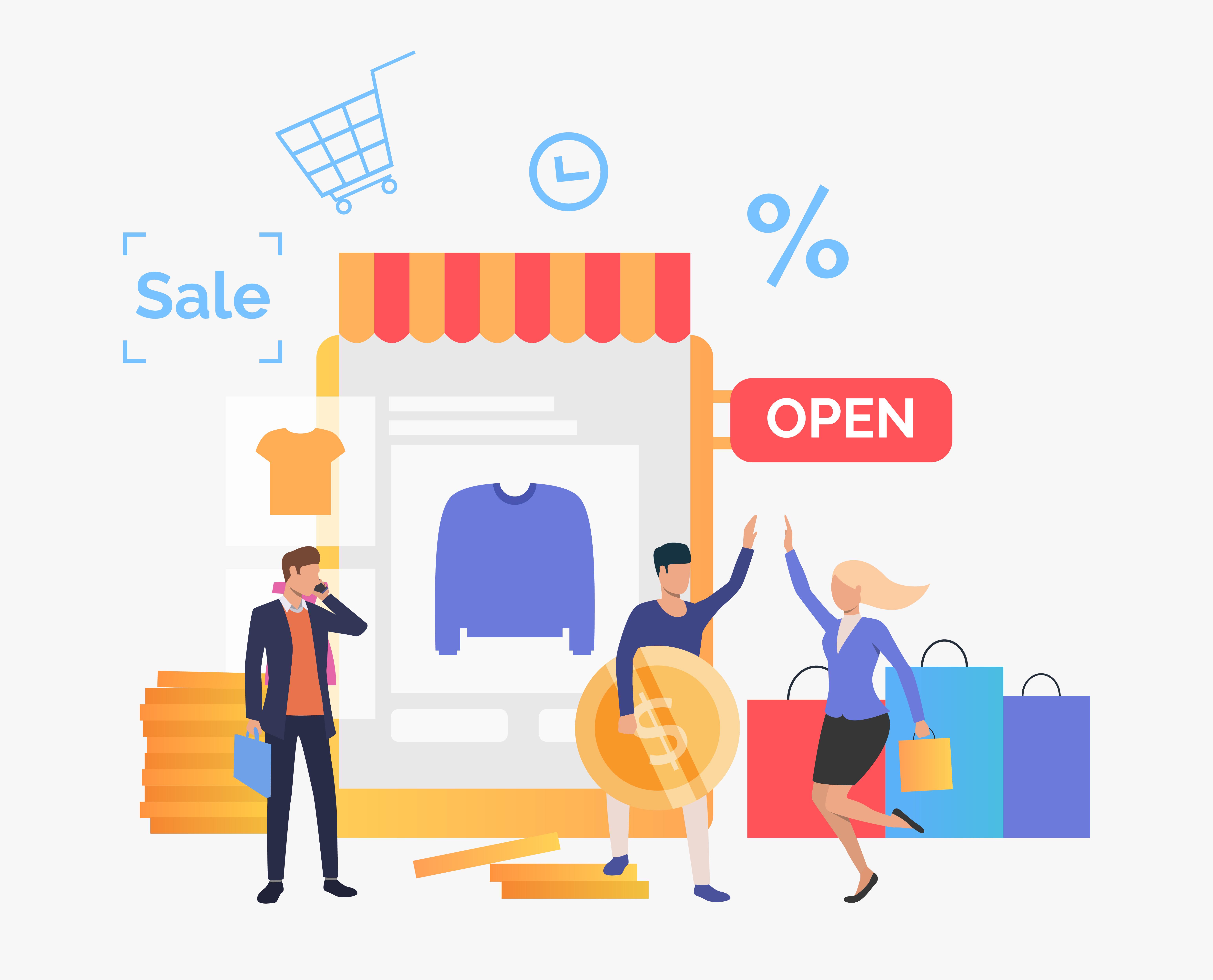 Retail auf dem Sprung zur Digitalisierung